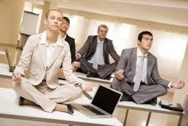 mediteren op tafel